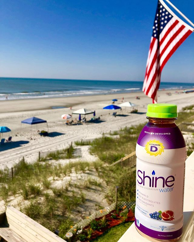 "Happy Memorial Day! ☀️💦🇺🇸 #youwereborntoshine  Thanks to all those who make days like this possible, like John who we met this morning in Surfside Beach, SC. He served in the Navy in both the Atlantic and Pacific theaters during WWII, and took part in atomic bomb testing at Bikini Atoll in the Marshall Islands. 93 years young and married 72 years, John has a good sense of humor and shared that he's not sure if his marriage is going to make it as his wife has been ""acting up"" a bit lately. #wwii #greatestgeneration #gratitude #memorialday #usa"
