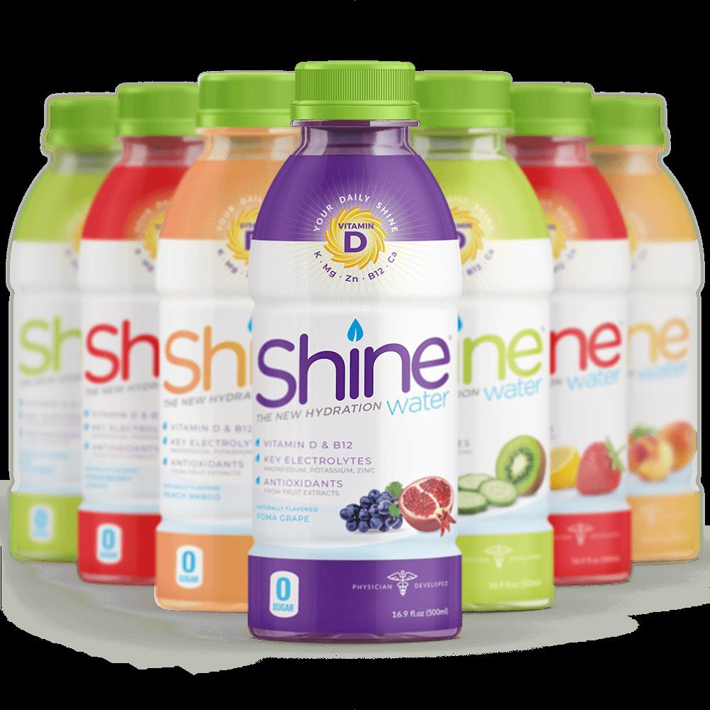 Variety 12 Pack - Variety Pack Contains• 3 Strawberry Lemon• 3 Kiwi Cucumber• 3 Poma-Grape• 3 Peach Mango• Vitamin D3 + Vitamin B12 + Folic Acid• Potassium + Magnesium + Zinc• Naturally Sweetened with Stevia Leaf Extract• Zero Grams of Sugar• 20 Calories per Bottle• No Artificial Flavors/Colors/Preservatives• Vegan
