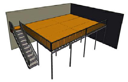 1st Defence Mezzanine Flooring