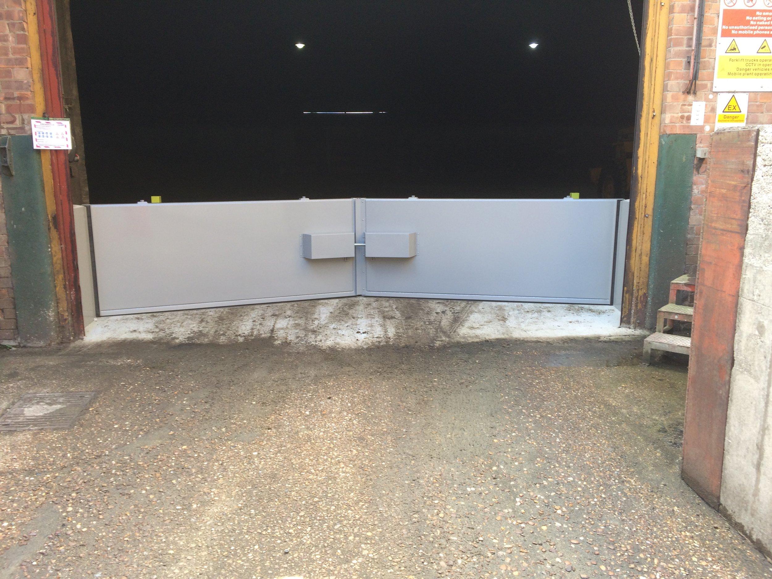 1st defence fabrications Ltd bund gate 1