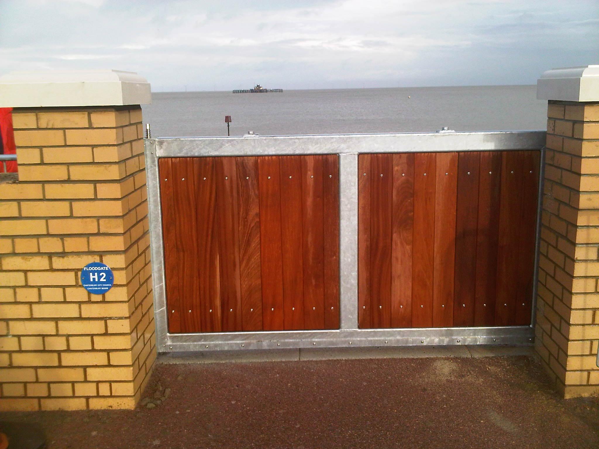1st defence fabrications Ltd storm gate 1
