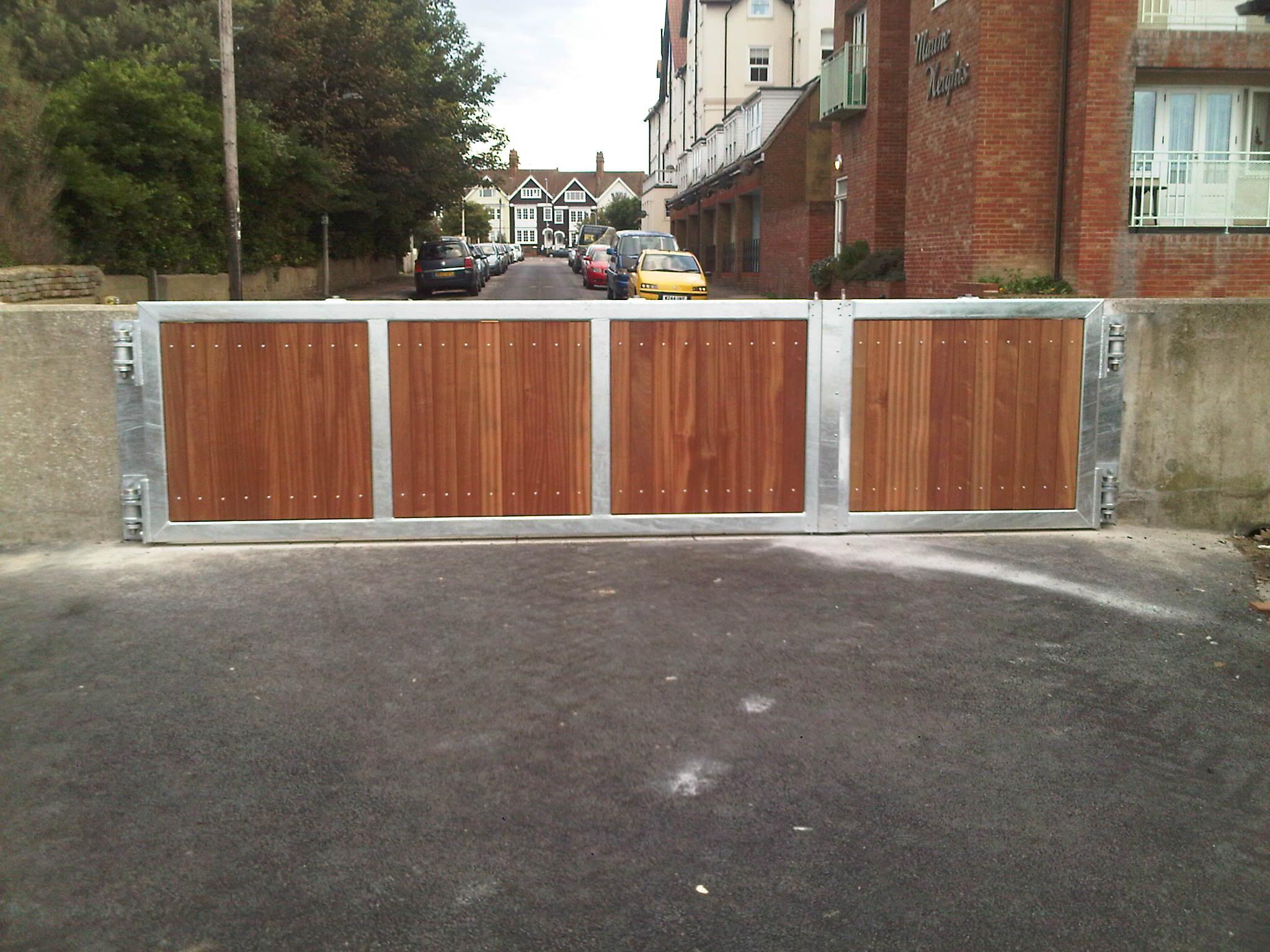 1st defence fabrications Ltd storm gate 2
