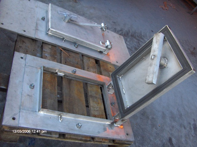 1st defence fabrications Ltd bund hatch