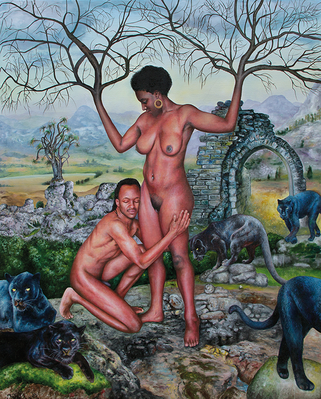 Généalogie    -2013  Oil on canvas, 162 x 130cm