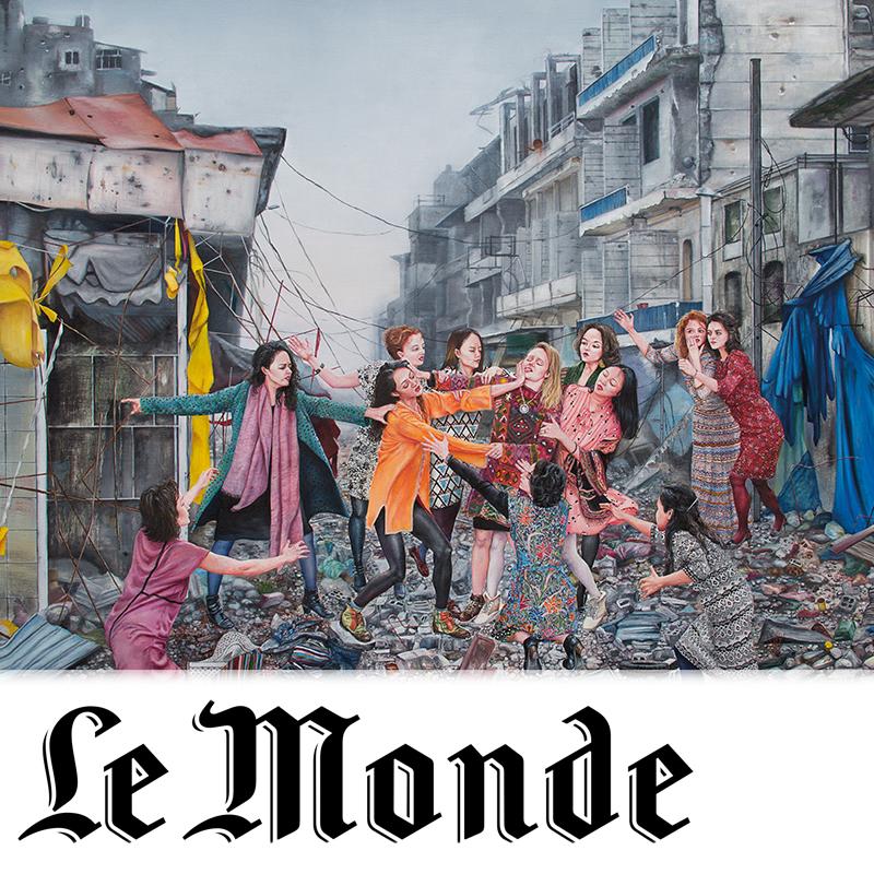 LE MONDE   Philippe Dagen  february 2018