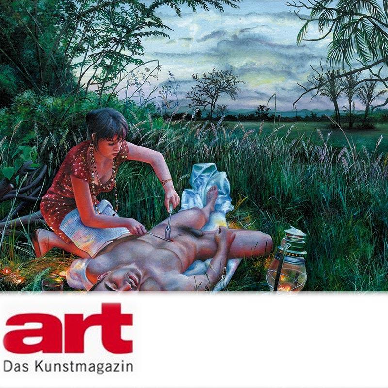 ART DAS KUNSTMAGAZIN   Philippe Dagen  january 2011