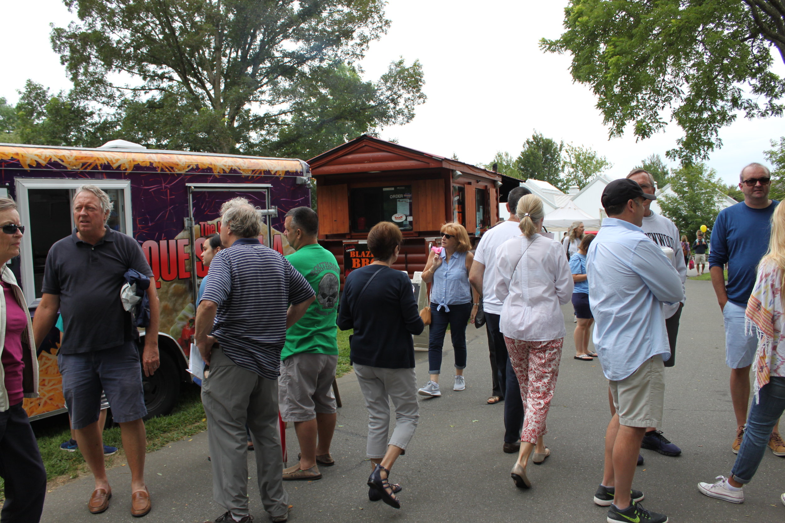 Bohemian Street Fair - You'll find a wide selection of great products from farmers, crafters, and artisans on the front lawn of the Florence Griswold Museum from 9am to 3pm. When its time for a break, grab a shady spot near the Spruce tree and choose a food truck for your lunch.
