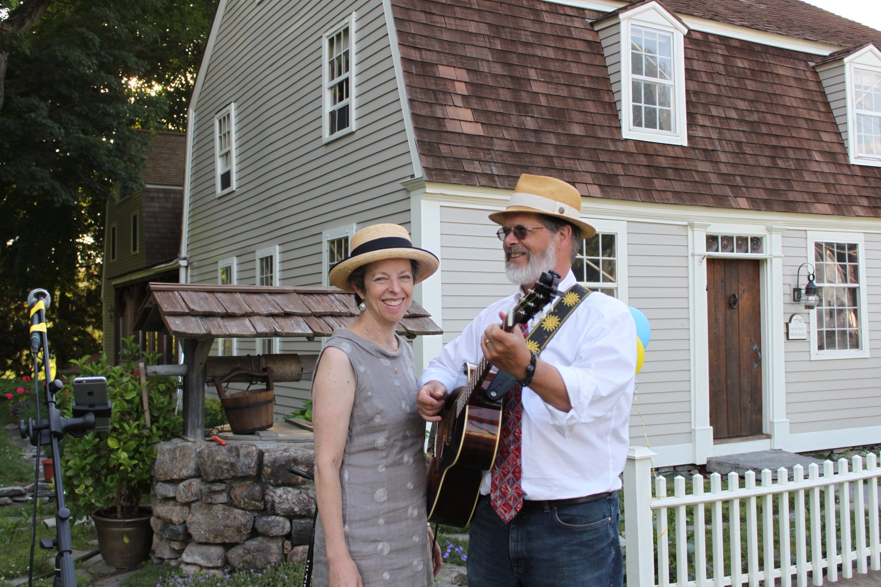 Gilead Road: Soft Rock and Folk on Lyme Street, Make Music 2018, Photo by Cheryl Poirier