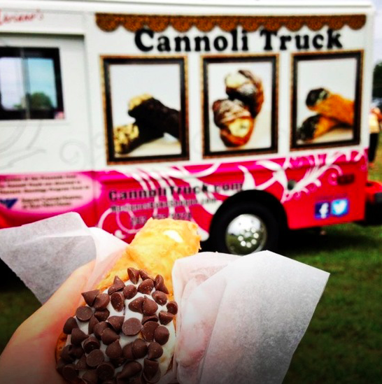 Photo Courtesy of Meriano's Cannoli Truck