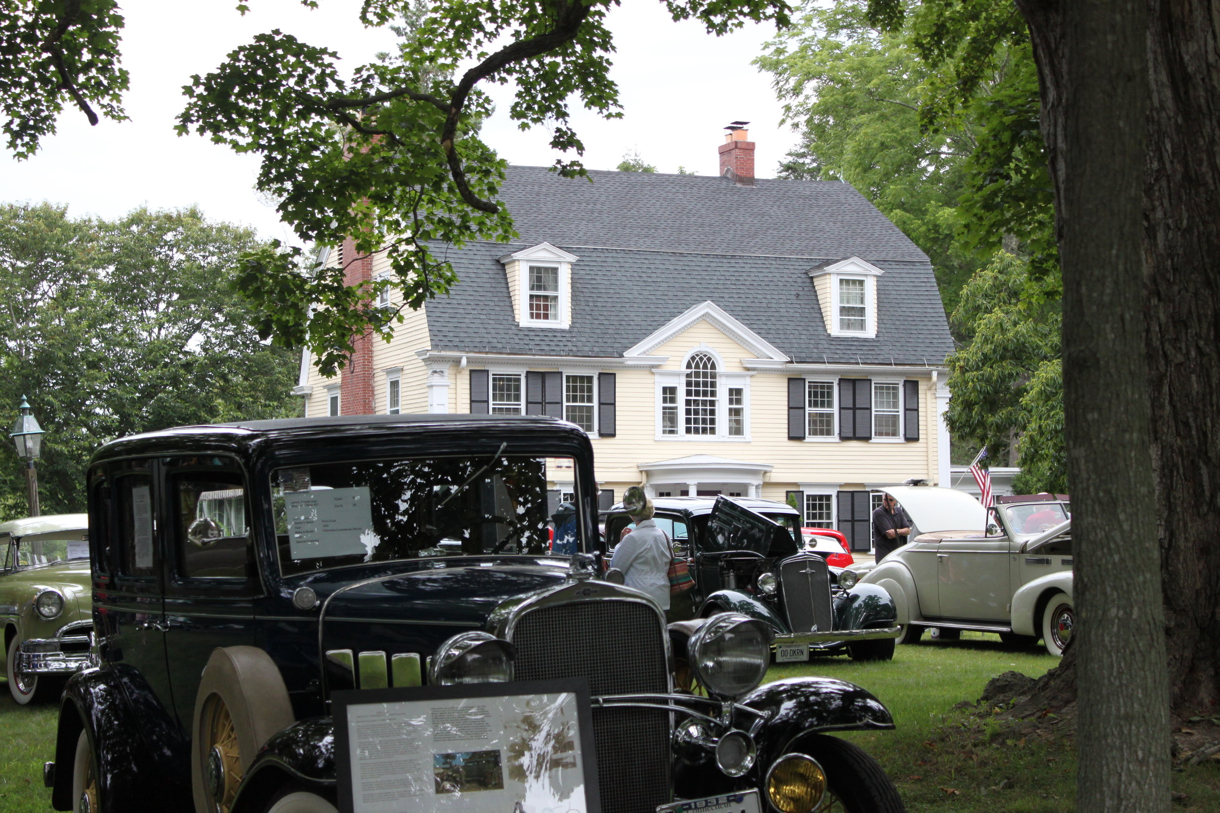 L-OL Lions Club Car Show on the lawn of Bee & Thistle.JPG