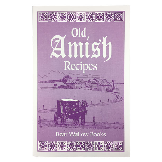 Amish - Old Amish RecipesHistorical notes describe a day in the life of an Amish family and the traditions and religious beliefs which continue to be passed from one generation to the next. Although Amish cooks use old-fashioned cooking methods, this book contains 64 recipes for bread, cakes, cookies, main dishes, soups, salads, candies and desserts which can be prepared using modern cooking equipment.