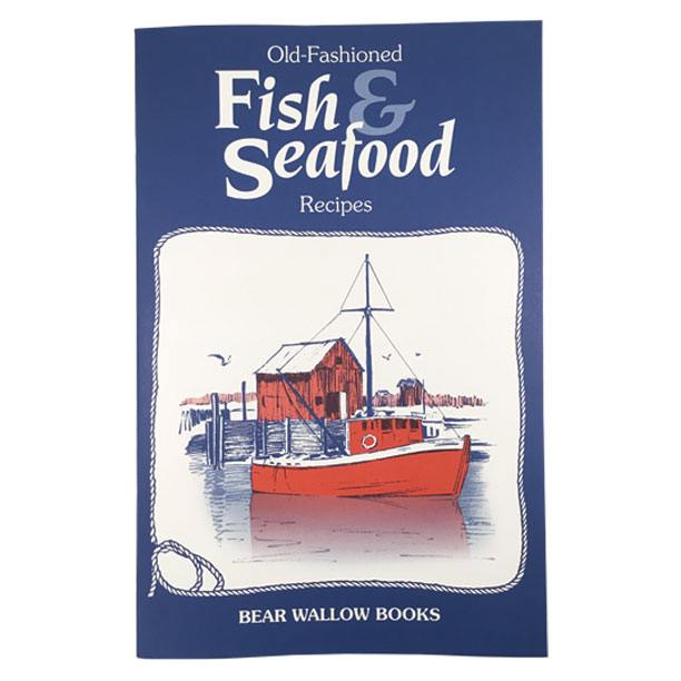 Fish & Seafood - Old-Fashioned Fish & Seafood RecipesRecipes for freshwater fish, saltwater fish, shellfish. Historical Vignettes set on East, West & Gulf coasts, Mississippi River and Great Lakes, with reference to inland rivers, streams and lakes. 82 recipes - baked, grilled, fried, poached, casseroles, soups and chowders.
