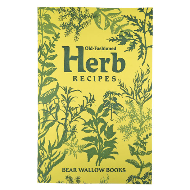 Herb - Old-Fashioned Herb RecipesHistorical notes tell us that pioneers used herbs as deodorizers, insect repellents, perfumes, cosmetics, medicines and dyes. A Usage Chart shows how herbs are used as culinary seasonings and the book contains tips on storing and using herbs - and on repelling insects. 77 recipes include main and side dishes, soups, breads, salads, dressings, desserts and herb vinegars.
