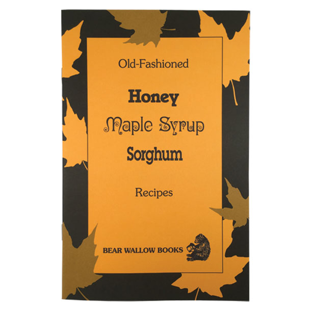 Honey-Maple Syrup-Sorghum - Old-Fashioned Honey-Maple Syrup-Sorghum RecipesHistorical notes reveal that honey was used in Ancient Greece, but maple syrup and sorghum are discussed in the context of American history. There is a section of recipes for each sweetener and storage methods are described. 80 recipes include yeast and quick breads, salads, vegetables, main dishes, glazes, sauces, desserts and candies.