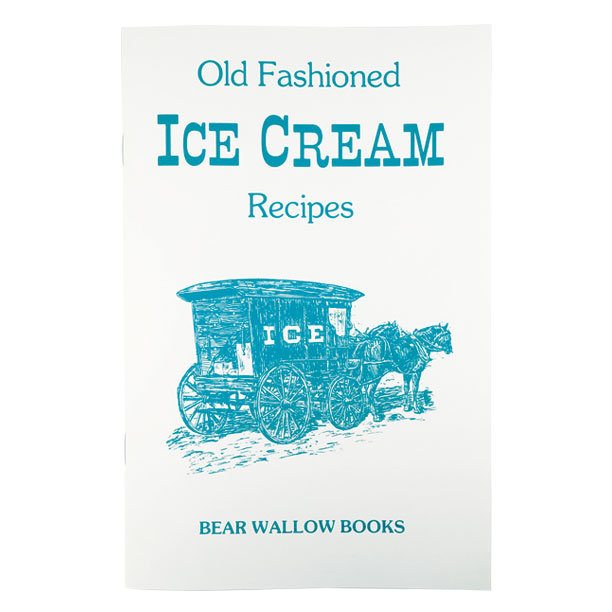 Ice Cream - Old-Fashioned Ice Cream RecipesHistorical notes trace ice creams from early civilizations - the Chinese, Greeks and Romans - through Victorian times, to the good old American Ice Cream Social. 85 recipes include many flavors of churned ice creams, ices & sherbets, ice cream pies, parfaits, bombes, mousses and other specialty ice cream treats, as well as butterscotch, strawberry, fudge sauce and other toppings.