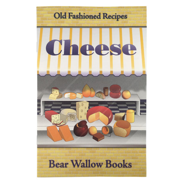 Cheese - Old-Fashioned Cheese RecipesA list of cheeses, their characteristics and countries of origin set the stage for 70 great recipes for appetizers, soups, salads & dressings, breads, main & side dishes and desserts. This book includes a short version of a long history of this most versatile of foods, and recipes using readily available cheeses for old favorites and unusual, delicious dishes.
