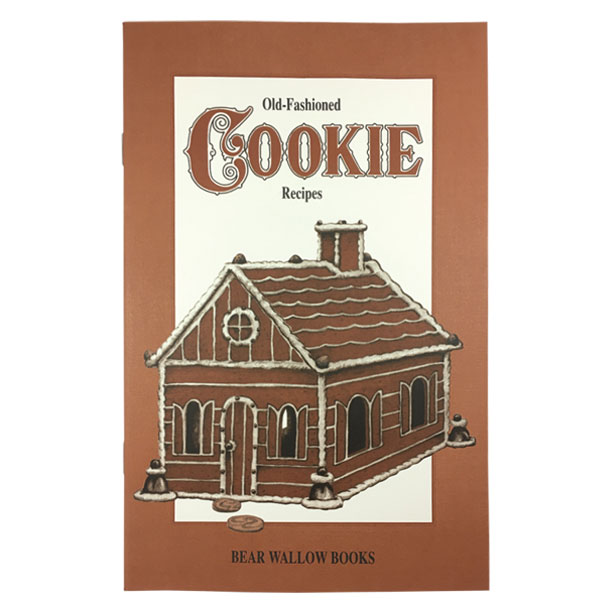 Cookie - Old-Fashioned Cookie RecipesHistorical notes trace cookies back 400 years, to Dutch origins - and to England, France, Germany, China and Rome. Of course, Toll House cookies are truly American and handmade cookie cutters were found in colonial homes. Instructions for building a Gingerbread House are included, as well as 67 recipes for drop, rolled, molded, pressed and bar cookies.