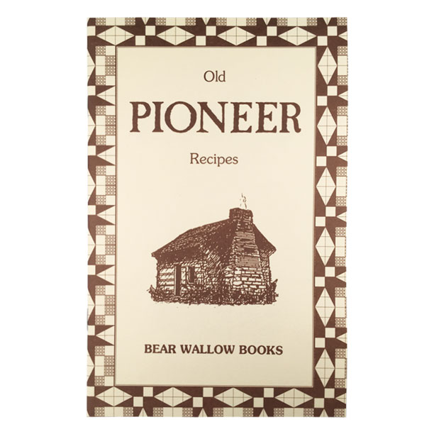 Pioneer - Old Pioneer RecipesHistorical notes describe methods of cooking during pioneer times, as well as living conditions and the importance of native foods. Pioneers made use of greens in the spring, fresh and preserved fruits, vegetables and meats according to the season. 69 recipes include breads & biscuits, salads & salad greens, wild game & meats, preserves & pickles, desserts and sweets.