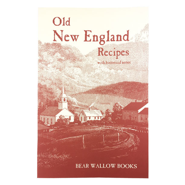 New England - Old New England Recipes: with Historical NotesHistorical notes describe the characteristics of the states which comprise New England, the people who settled there and the origins of the many traditional recipes, including Anadama Bread, Boston Baked Beans, Hasty Pudding and Muster Day Gingerbread. The book's 72 recipes include breads & breakfasts, suppers & side dishes, soups & salads and desserts & sweets.