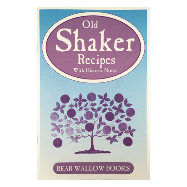 Shaker - Old Shaker Recipes: with Historical NotesHistorical notes tell us that twenty-one shaker communities were established from 1774 through Civil War times, from Maine to Georgia and as far west as Ohio and Kentucky. Shaker cooks were skilled in the use of herbs and passed along a creative collection of 62 recipes which include breads, breakfasts, desserts, meat & vegetable dishes, soups, salads, preserves and candies.