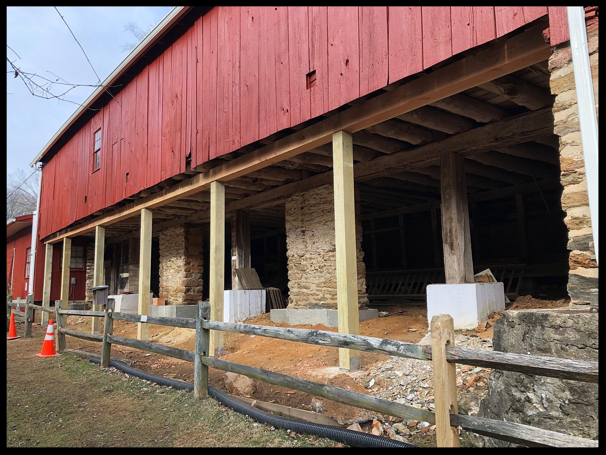 Eden Mill Barn Repairs
