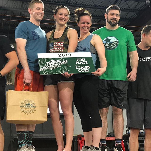 Congratulations to our podium winners of today, and to ALL the athletes that showed up today, competed, had fun, and gave an inspiring effort. The scaled portion of App Games 2019 is complete - we couldn't have done it without the amazing athletes, volunteers, vendors, and spectators today - and we are so excited to carry this momentum into the RX and Masters competition tomorrow! Same time, same place 💪🏽🏋🏽‍♂️