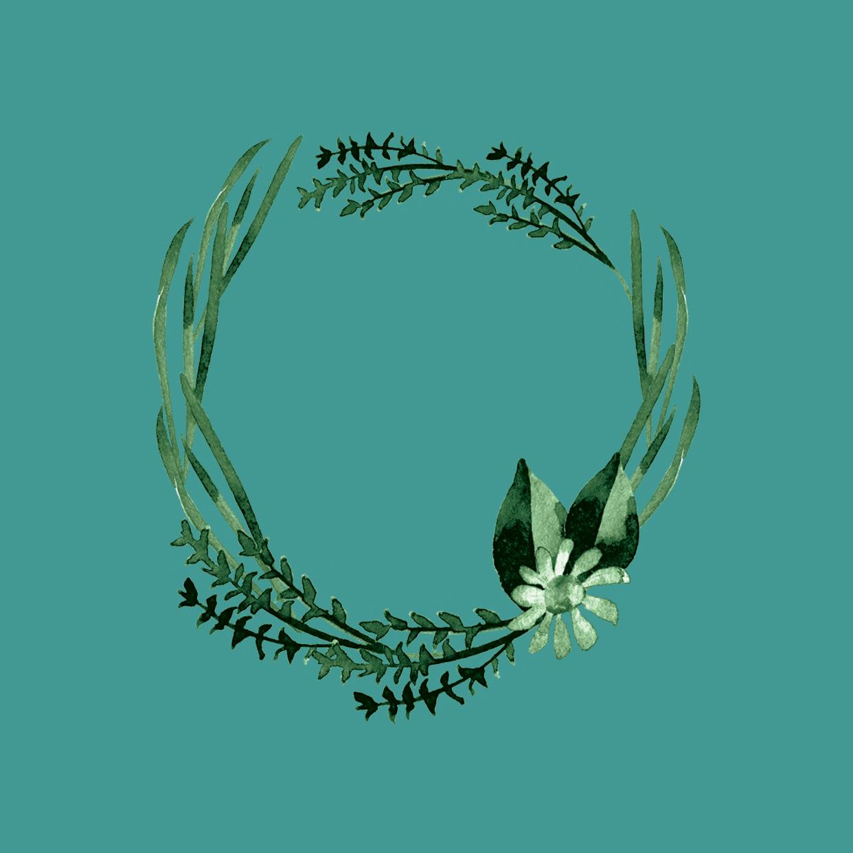 green wreath on turquoise.jpg