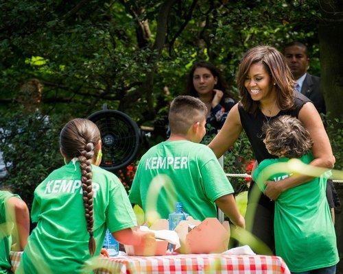 Students meeting Mrs. Obama.jpg