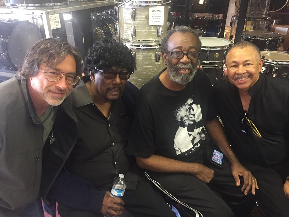 w/James Gadson, Raymond Pounds, Ralph Johnson