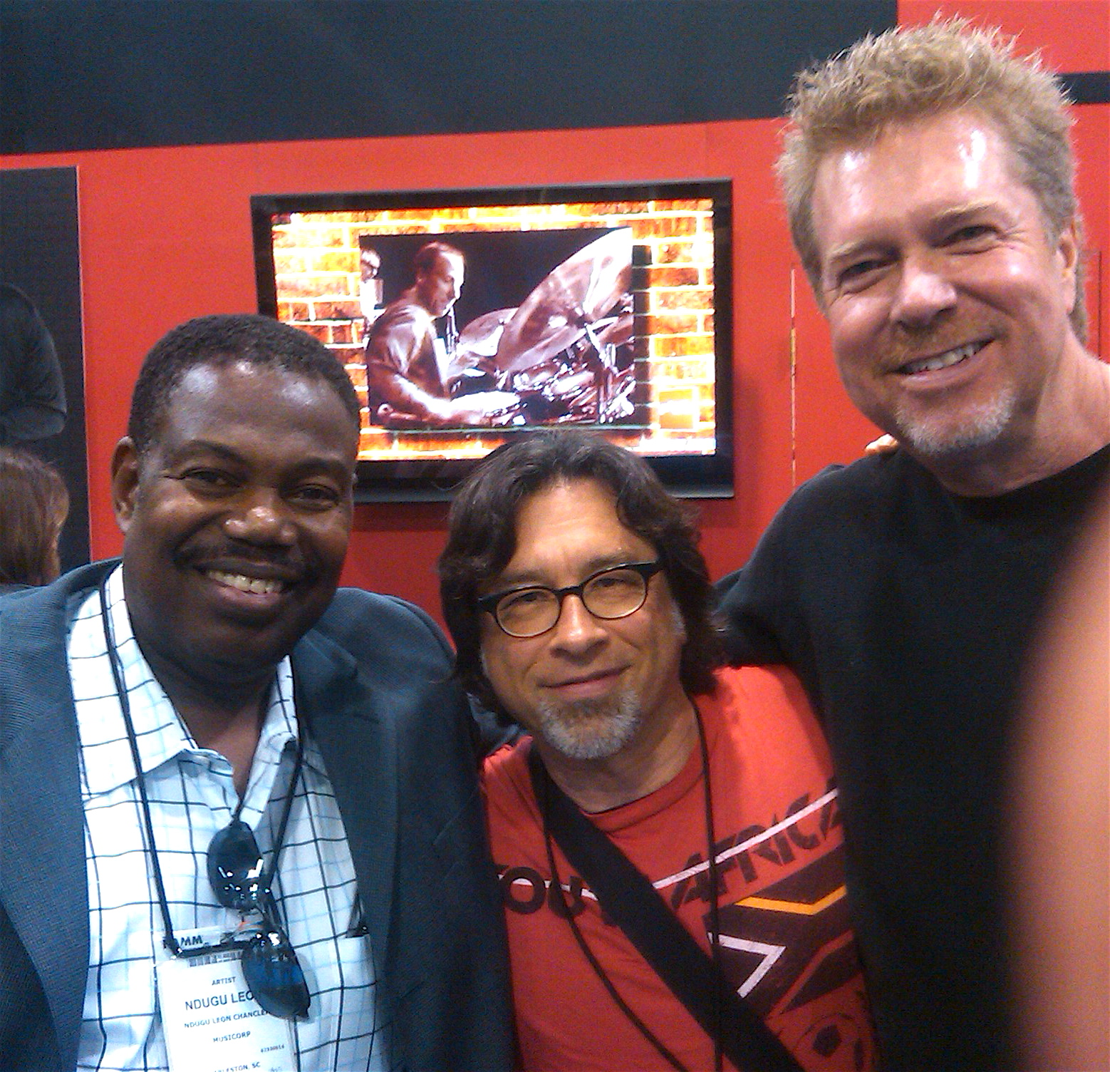 """w/Ndugu Chancler & John 'JR"""" Robinson"""