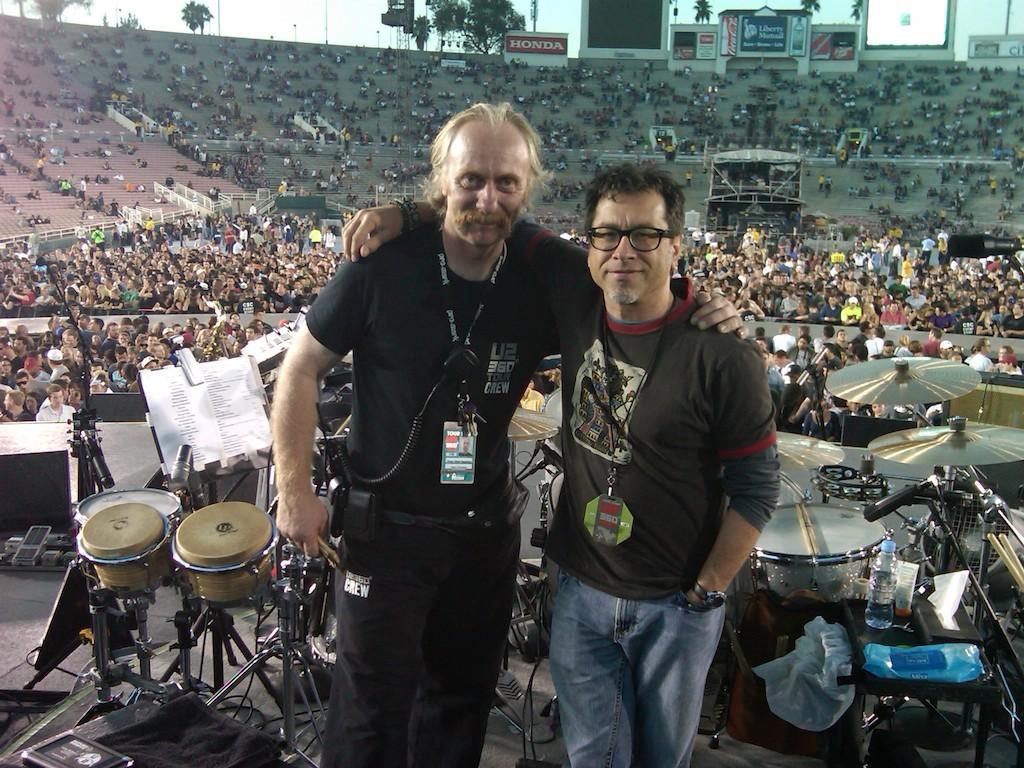 w/Sam O'Sullivan-U2 Studio Manager
