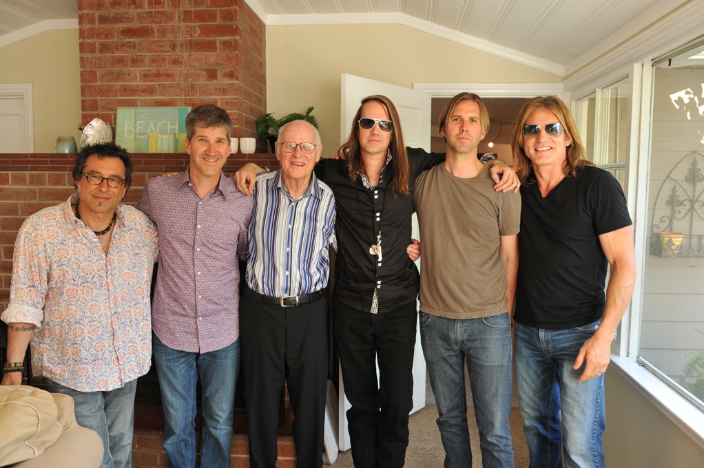 w/Chad, Chuck, John & Brooks Wackerman & Rob Shanahan