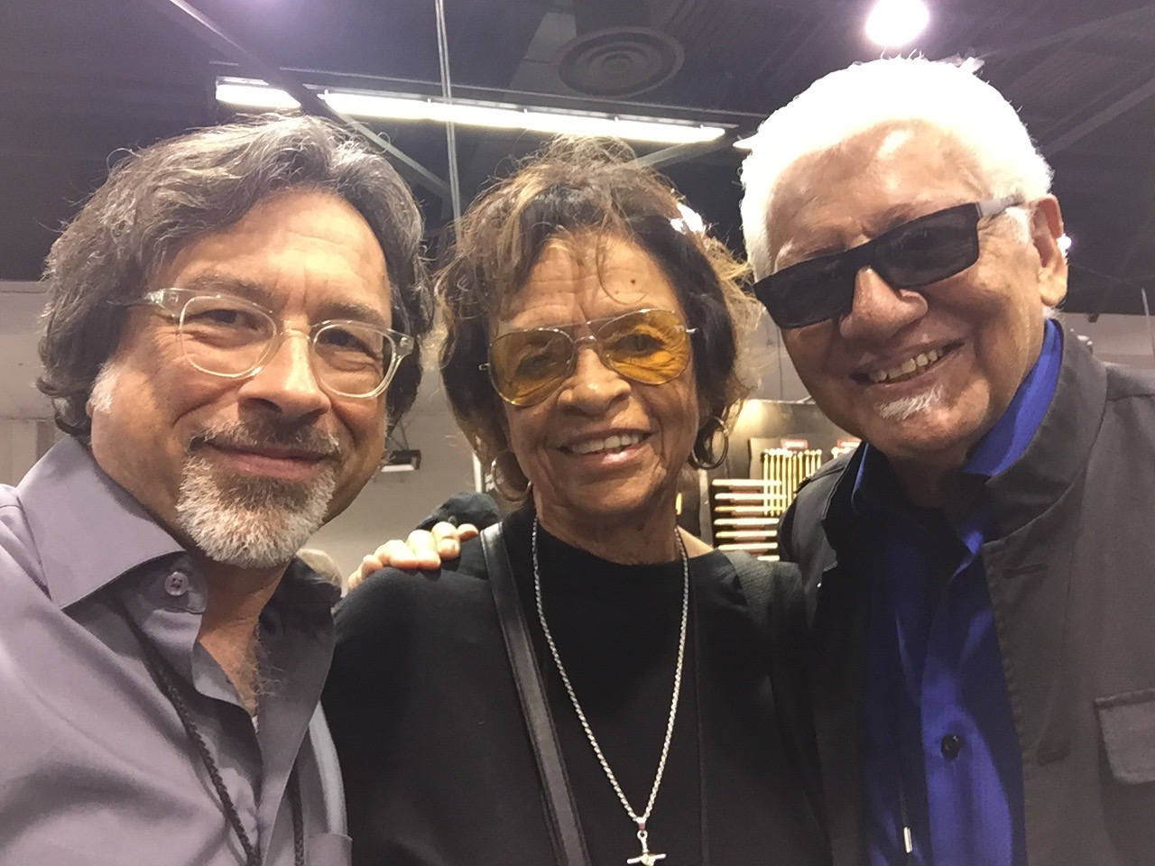 w/Juanita and Pete Escovedo
