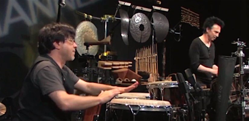 w/Terry Bozzio on Drumchannel.com