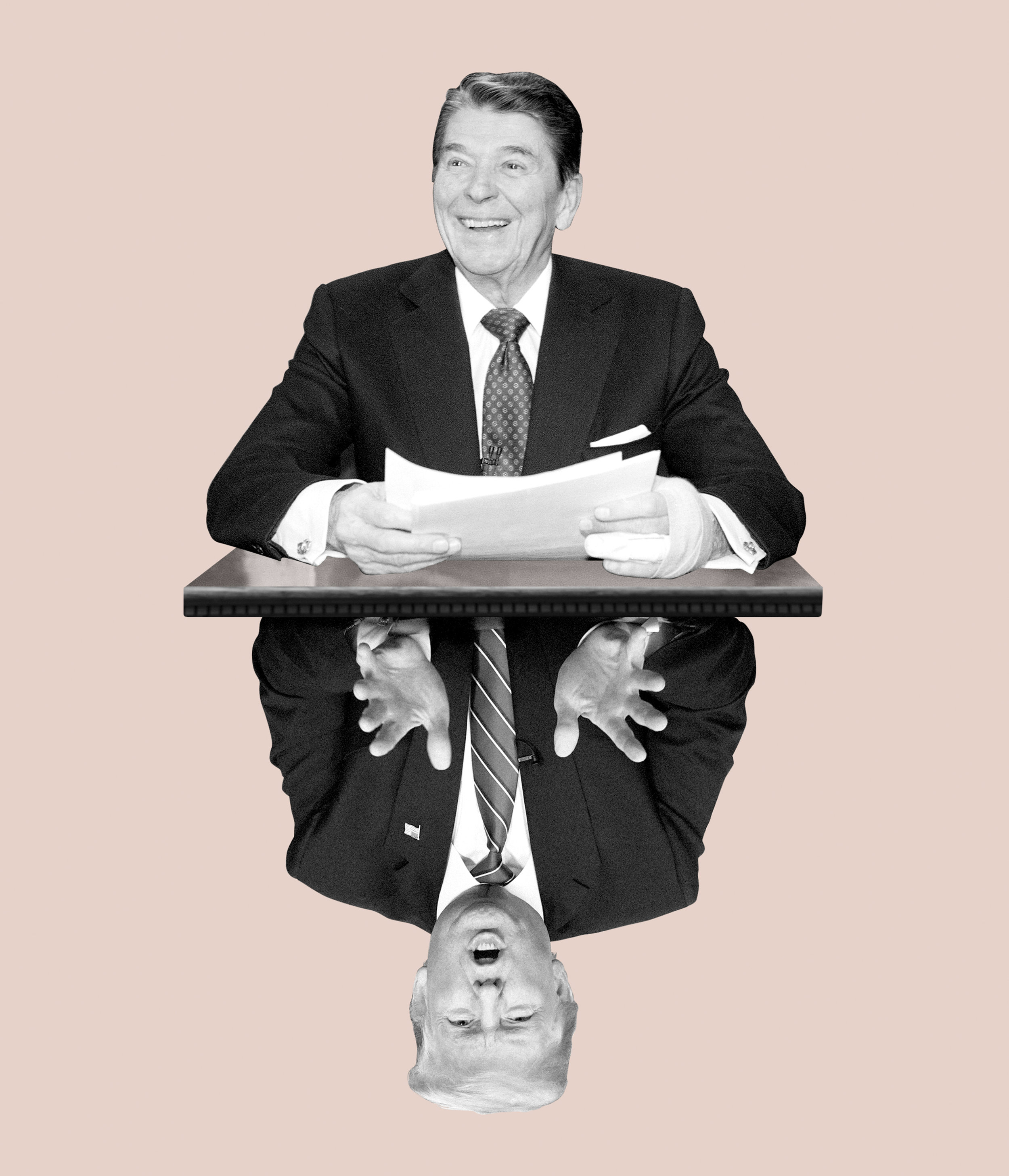 Ronald Reagan's Hopeful Farewell. By Jon Meacham
