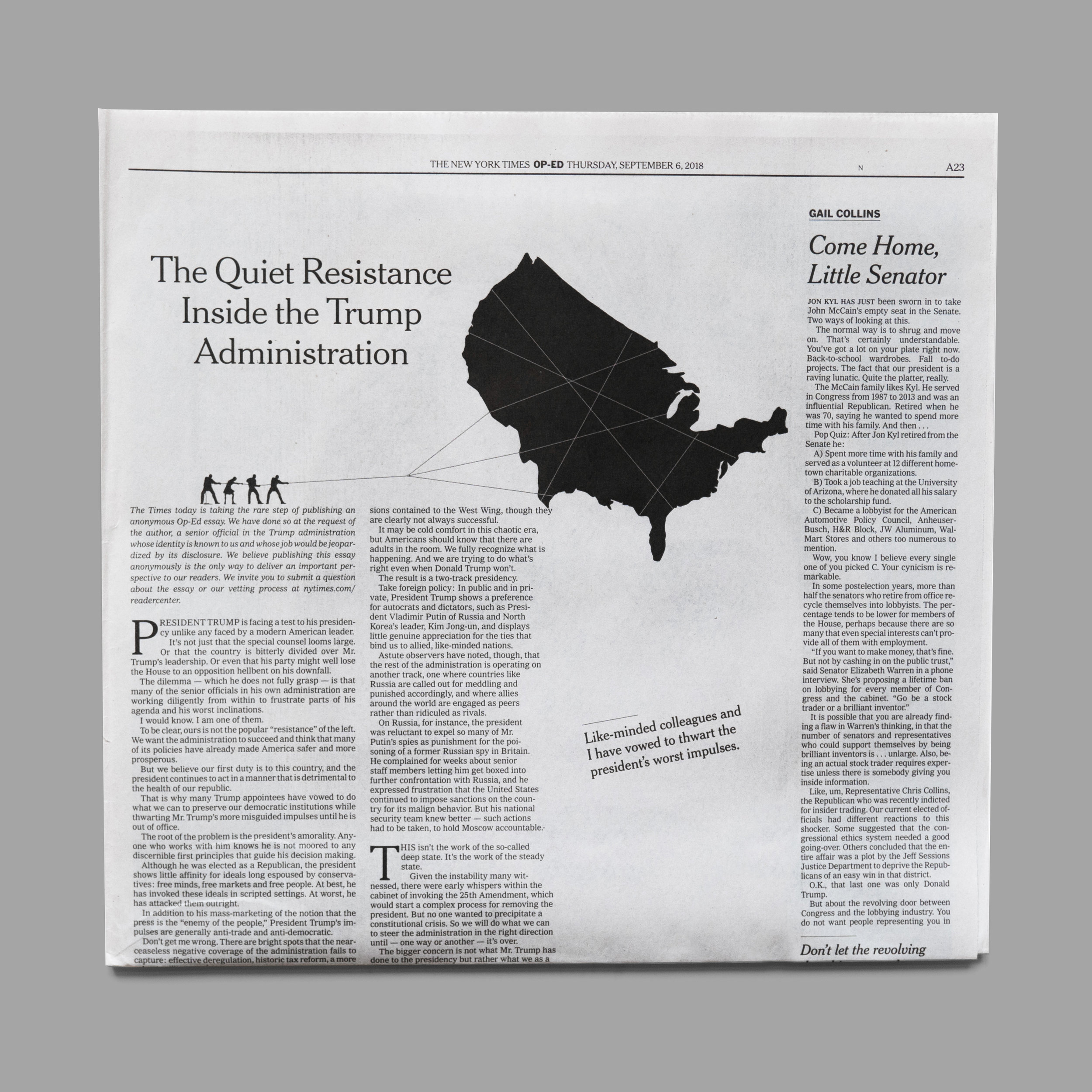 The Anonymous Op-Ed. The Quiet Resistance Inside The Trump Administration.