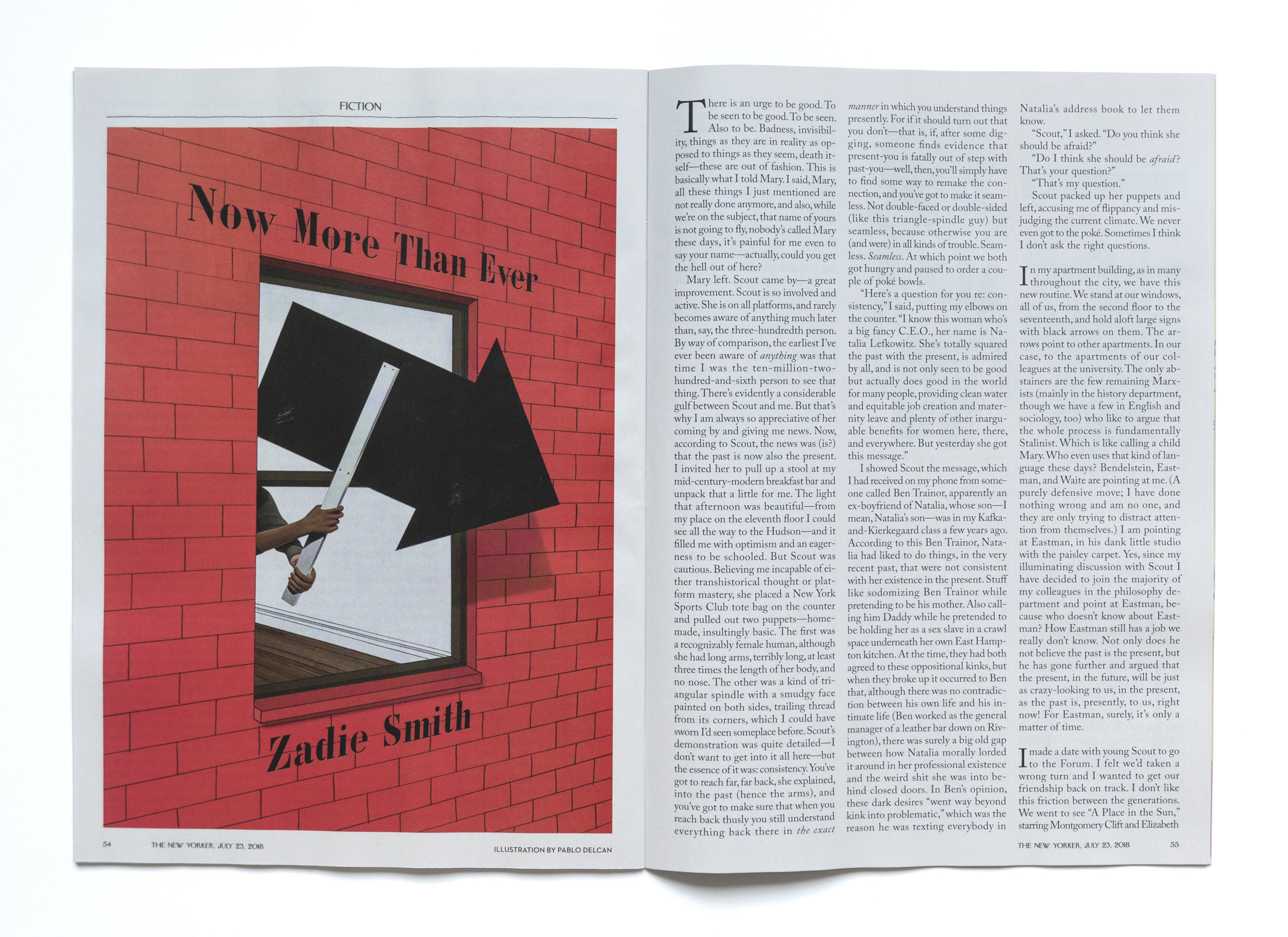 Now More Than Ever. The New Yorker.