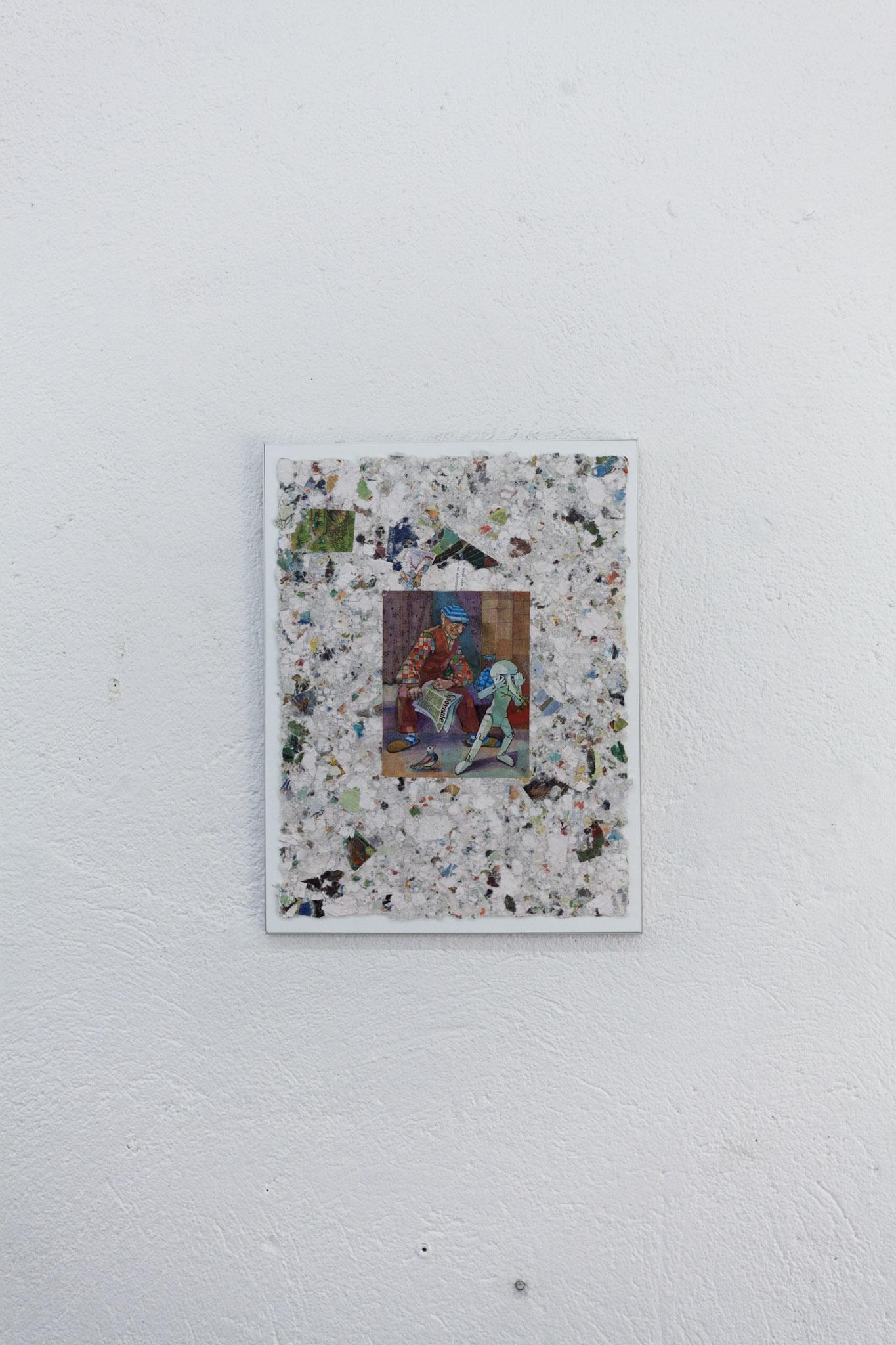 Philémon Otth, installation view.