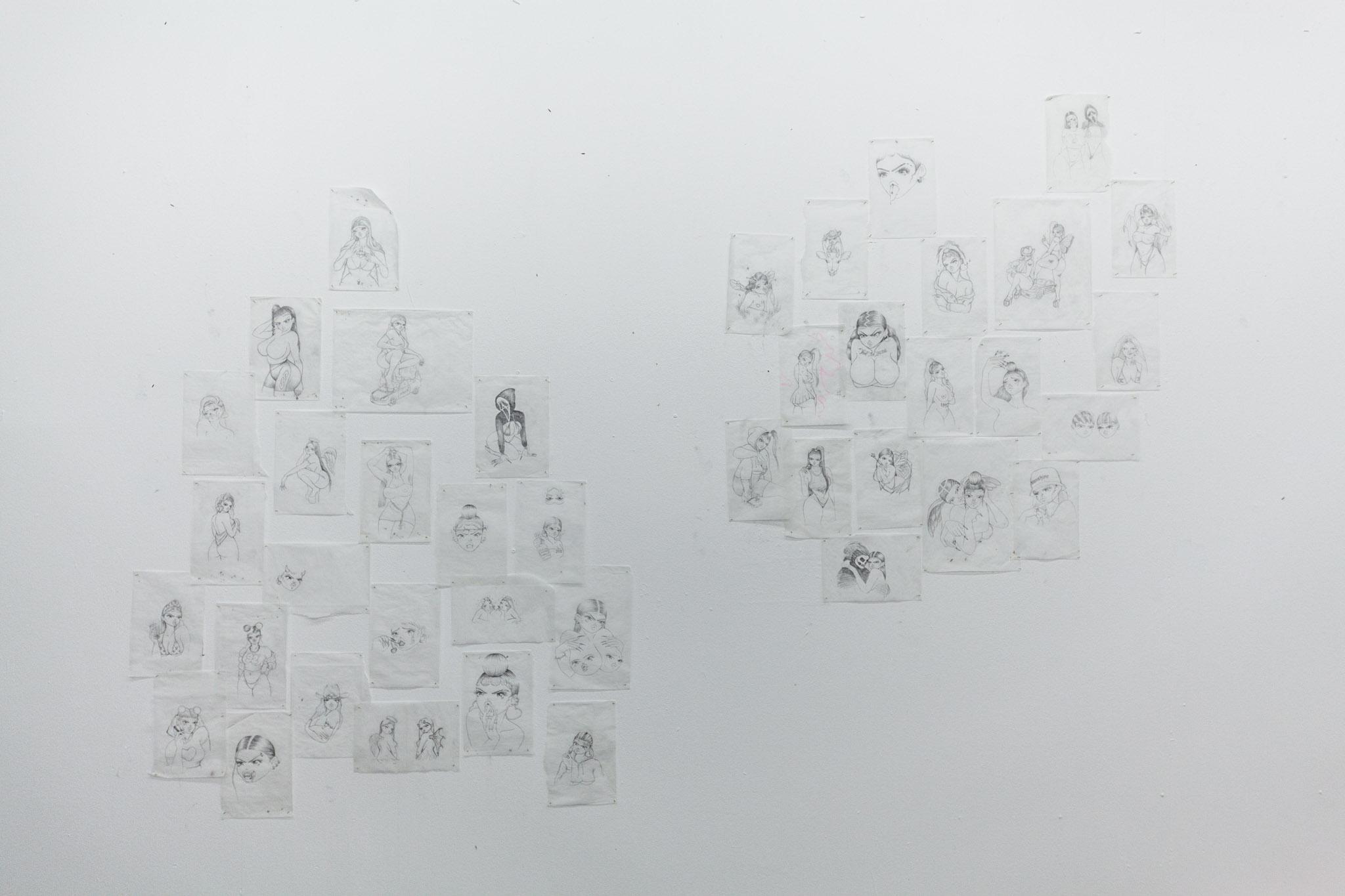 Manuela Soto, installation view.