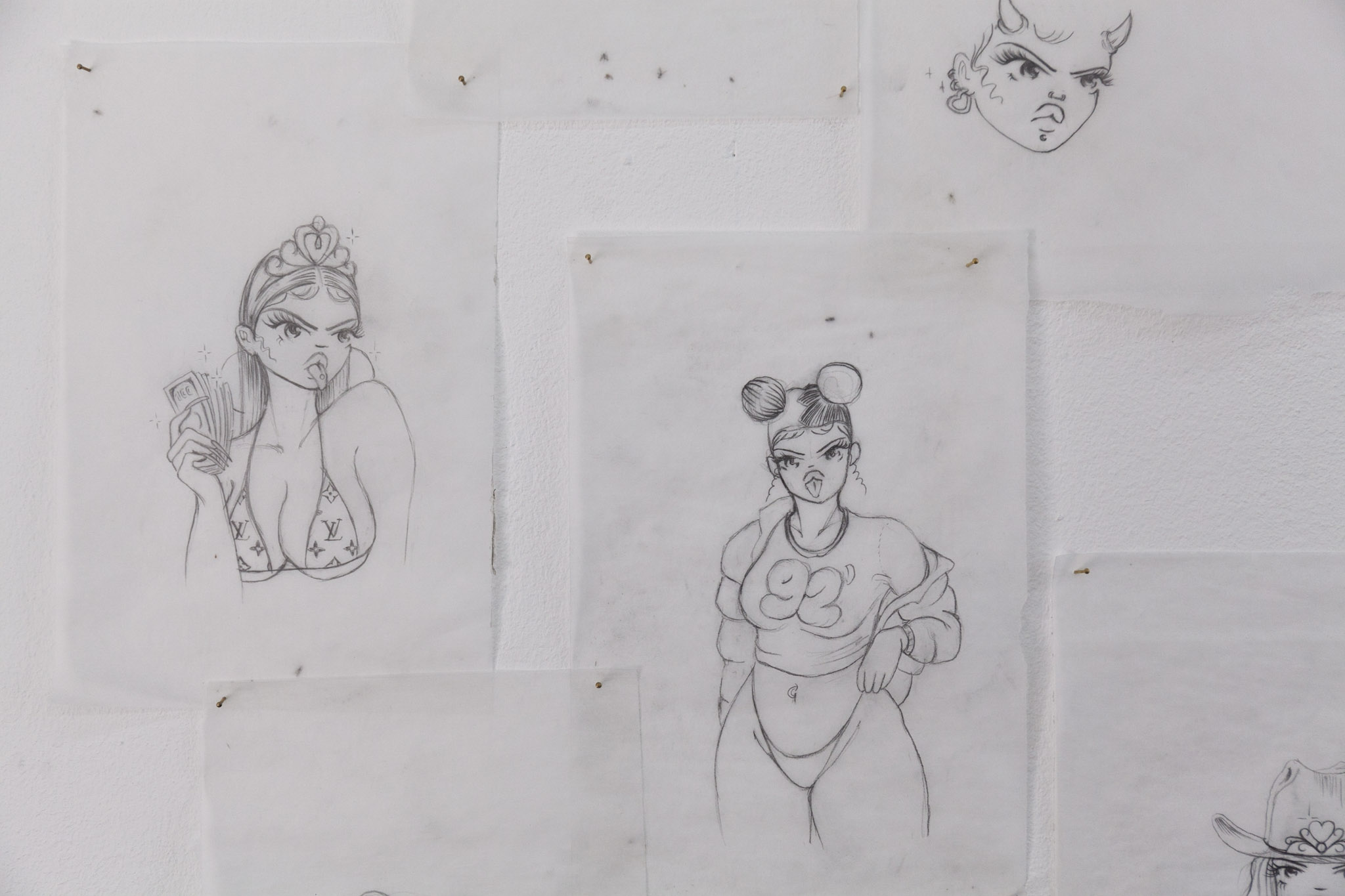 Manuela Soto, detail.