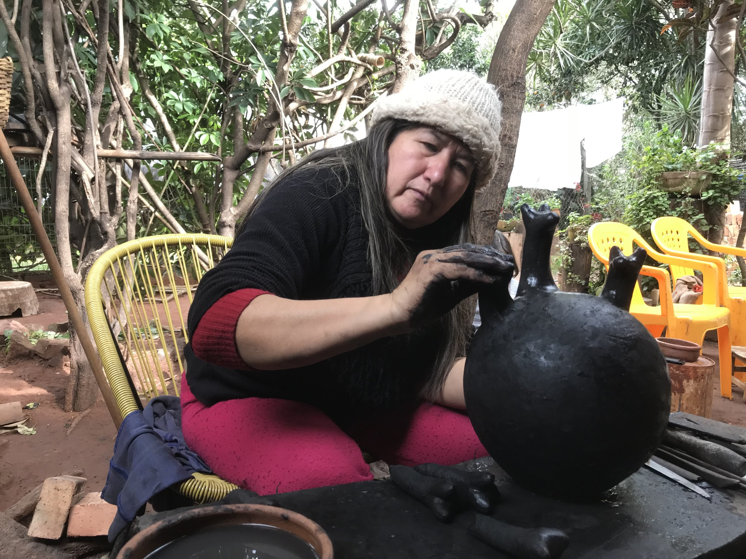 Julia Isidrez, Paraguay