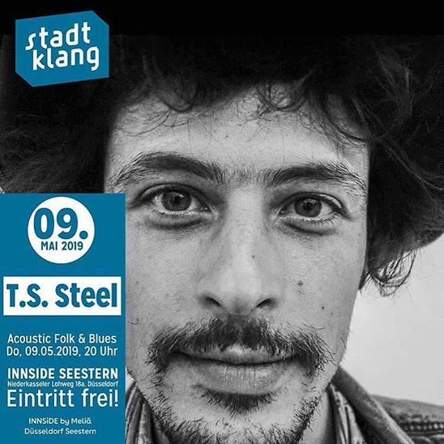 Lovely people of Düsseldorf, I'll be performing Innside Hotel @ 20:00 Uhr sponsored by the wonderful folks of @stadtklang.livemusik  See you there! ✌️ #duesseldorf #meinduesseldorf #stadtklang #livemusic #konzert