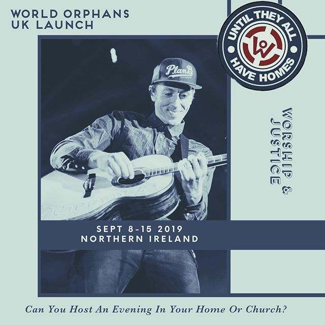 Oh Northern Ireland - the motherland, this is why I love you. We announced 24hours ago our news about helping to launch @worldorphans UK. Already the week is almost filled; with details to follow. Still trying to fill both Sundays 8th & 15th am/pm 🙌🏻 Super excited at this initial response for our launch of World Orphans UK. You are all amazing. Thanks for jumping on board, have loved all the supportive messages. 🙌🏻 Even if this particular week didn't suit your calendar and if you would still like to get involved at a later date we would love to hear from you. Aaron & Jill 🙌🏻 #worldorphans #uklaunch #worship #justice #muscianary #songs #stories #worshipmusic #untiltheyallhavehomes #ccm #christianmusic #worshipmusic #church