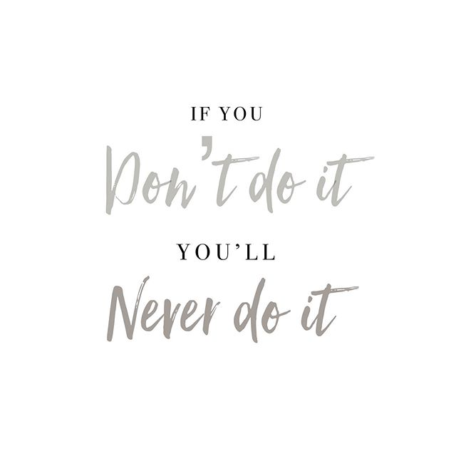 Spur someone on and tag them in the comments. 🏷 This started out as tired comment and has morphed into this summers motto..... it's simple and it's true. 💪🏻 What dreams are there to grab? 💪🏻 What should you be doing? 💪🏻 What have you been putting off? 💪🏻 #justdoit #motto #tourlife #tourconversations #challenge #