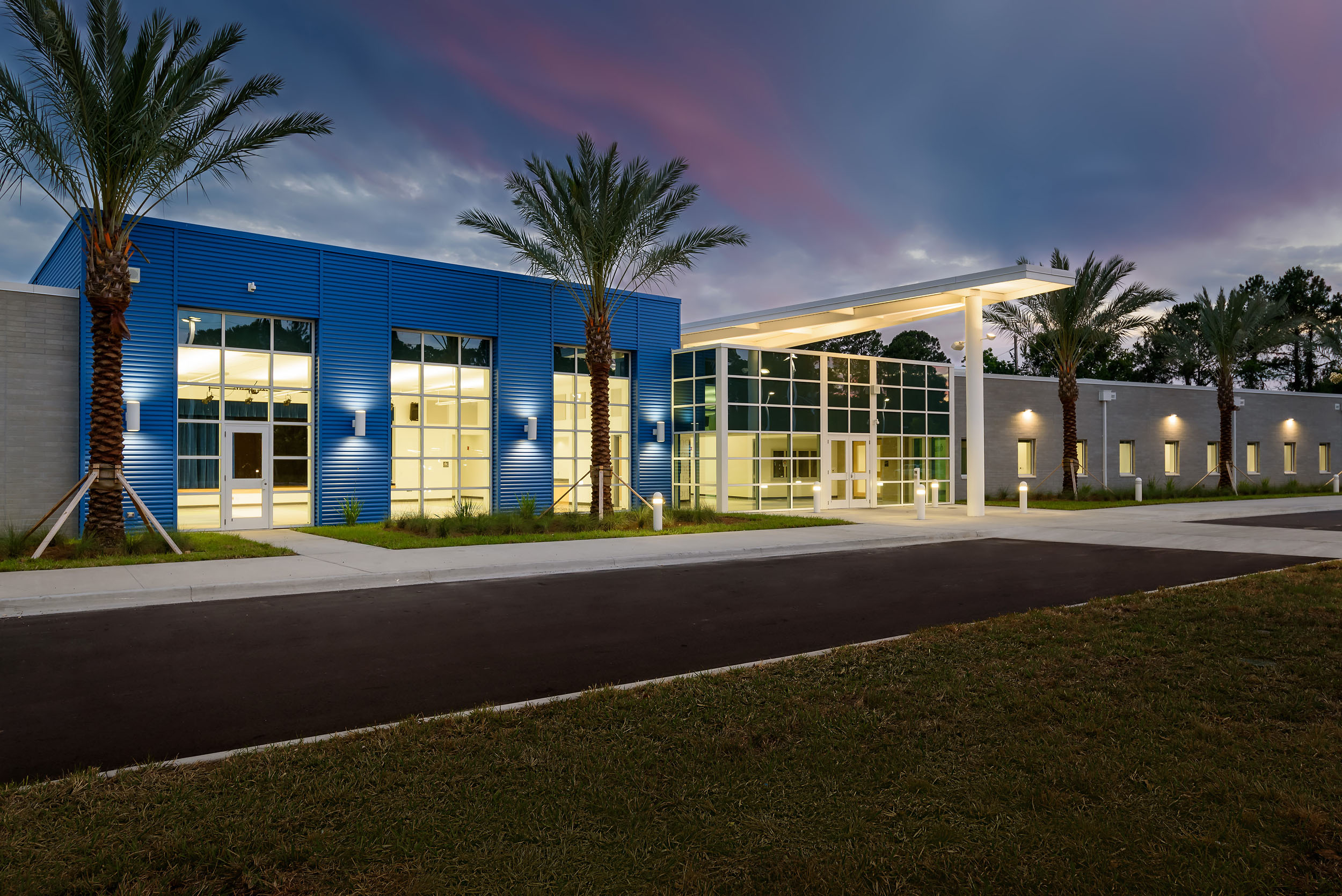 Arlington Community Academy in Jacksonville. Photographed for ENB Architects.