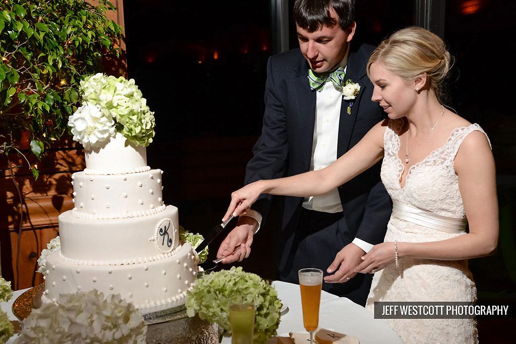 bride groom cake wedding walker's landing
