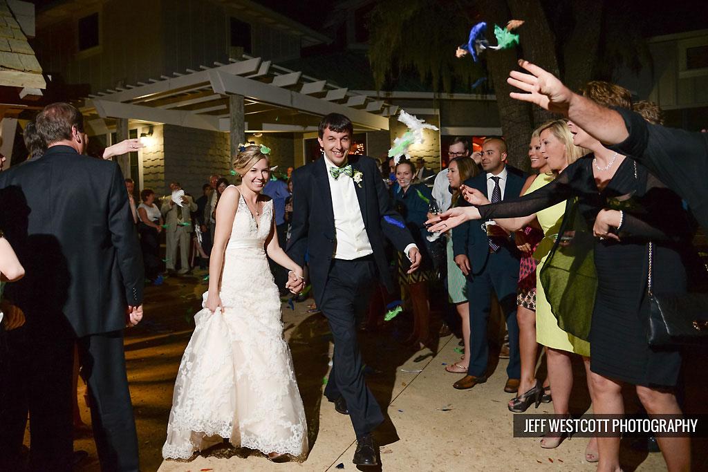 wedding walker's landing
