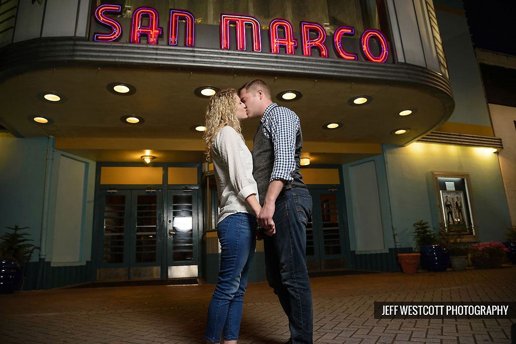 Engagement San Marco theater