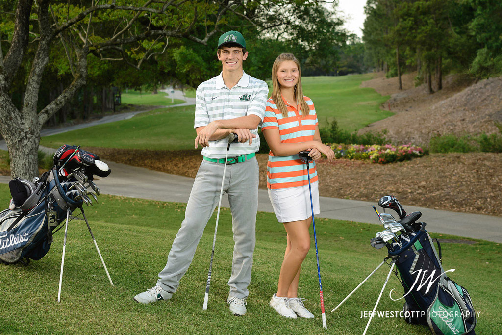 golf senior portrait jacksonville