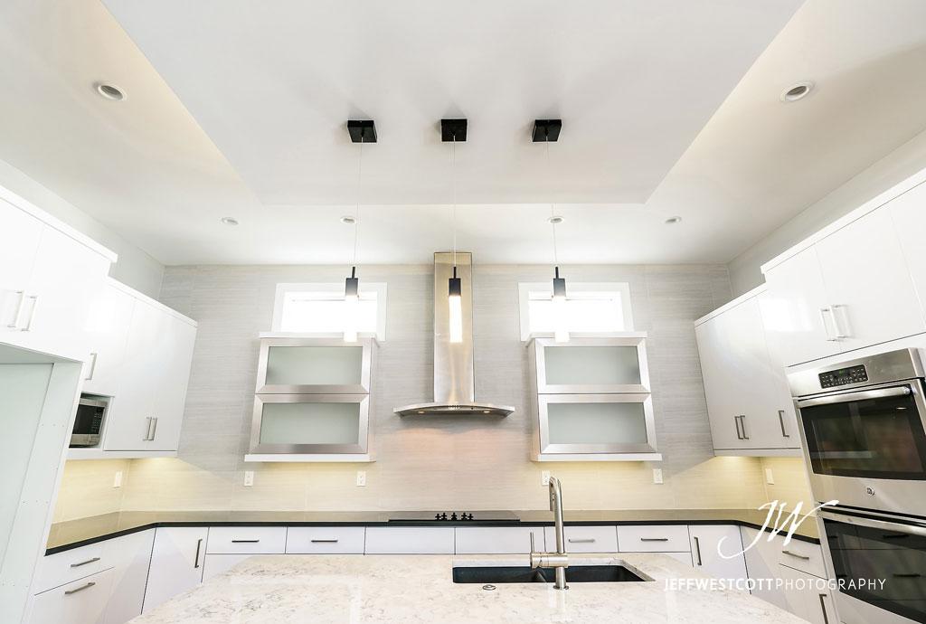 kitchen new home jacksonville atlantic beach architectural photographer